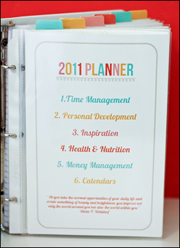 It S A New Day Planner Options